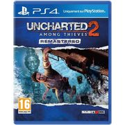 JEU PS4 Uncharted 2: Among Thieves Remastered Jeu PS4