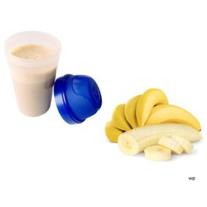 SUBSTITUT DE REPAS Crème hyperprotéinée Banane Crème 15 SACHETS