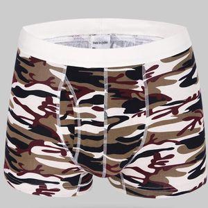 BOXER - SHORTY Boxer Homme Coton Camouflage Mode Sous Vetemen Hom