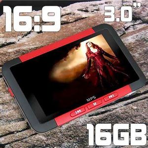 """LECTEUR MP4 Lecteur MP3 MP4 MP5 16GB ecran LCD 3.0"""" radio FM V"""