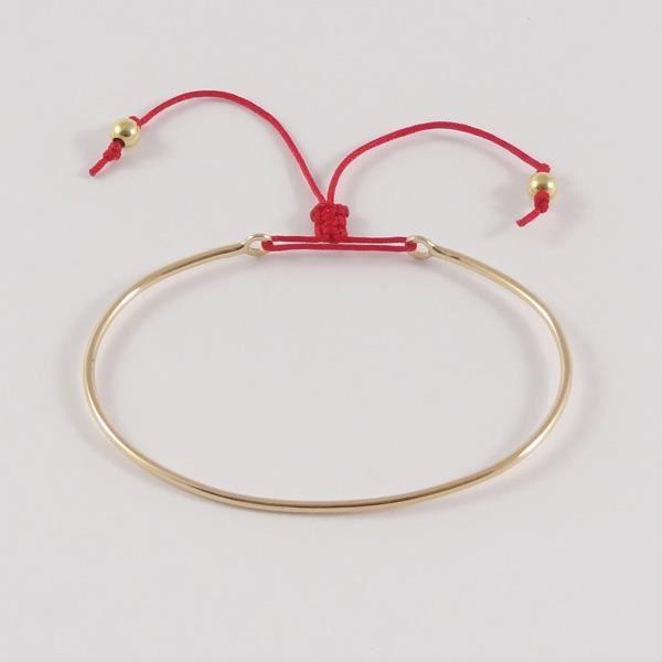 bracelet grand jonc plaqu or achat vente bracelet. Black Bedroom Furniture Sets. Home Design Ideas
