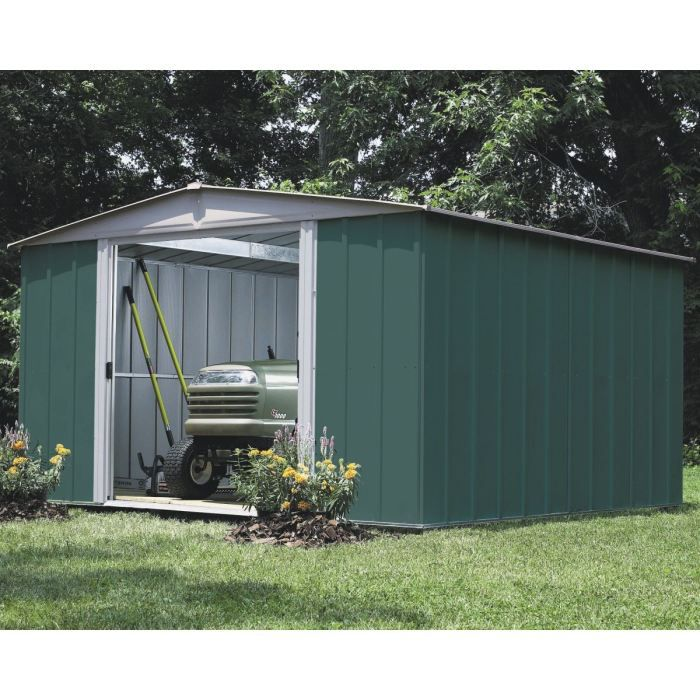 Abri de jardin en acier galvanis 11m achat vente for Abris de jardin en kit