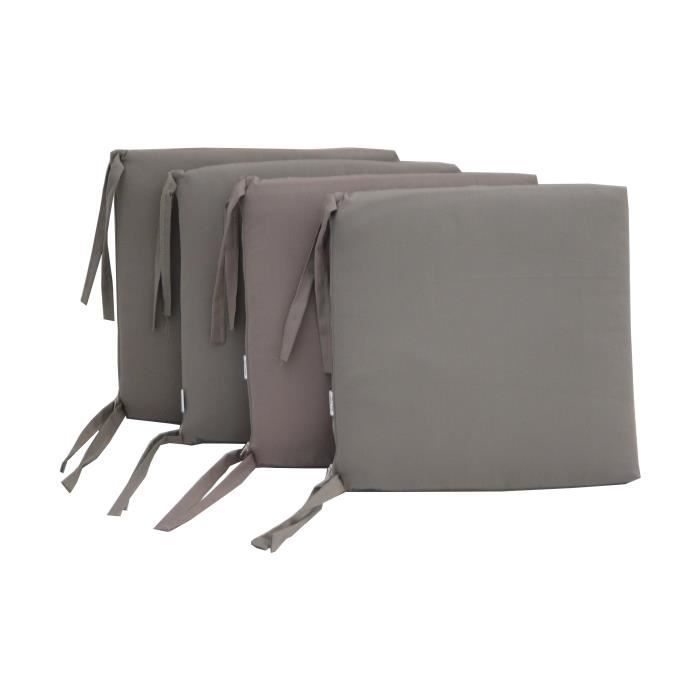 Coussin de chaise d houssable 14 coloris disponibles - Coussin de chaise dehoussable ...