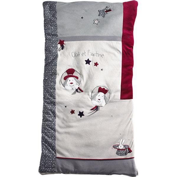 edredon 70x140 olaf et faustine achat vente couverture plaid b b edredon 70x140 olaf et. Black Bedroom Furniture Sets. Home Design Ideas