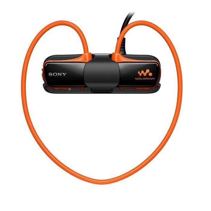 sony nwz w273sd lecteur mp3 4go tanche orange lecteur. Black Bedroom Furniture Sets. Home Design Ideas