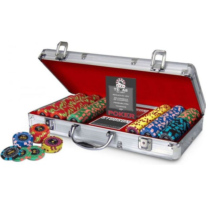 Malette poker royal 300 jetons