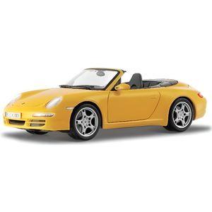 MAISTO Véhicule Porsche 911 Carrera S Cabriolet 2005 - Échelle 1/18?me - Métal
