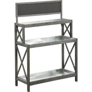 console en bois vieilli achat vente console en bois vieilli pas cher cdiscount. Black Bedroom Furniture Sets. Home Design Ideas