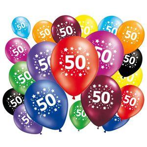 BALLON DÉCORATIF  20 ballons anniversaire 50 ans