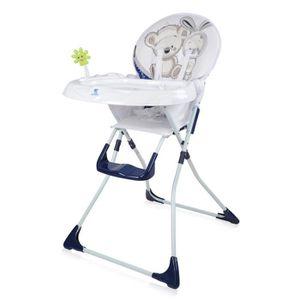 CHAISE HAUTE  Chaise haute pour bébé JOLLY Bleu Lorelli