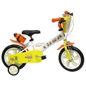 VÉLO ENFANT LES MINIONS Vélo Enfant 12 pouces (2 à 4 ans)