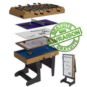 table multi jeux riley achat vente jeux et jouets pas. Black Bedroom Furniture Sets. Home Design Ideas