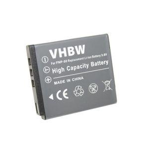 BATTERIE APPAREIL PHOTO Batterie LI-ION compatible pour FUJIFILM FinePix X