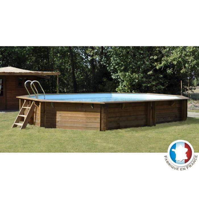 Sunbay cubana piscine bois pin sylvestre 4 36x3 36m h 1 for Piscine sunbay