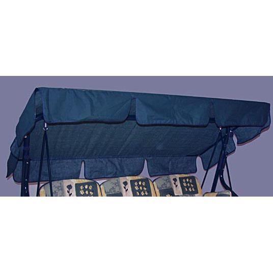 toit de recharge pour balancelle 3 places bleu achat vente balancelle toit de recharge pour. Black Bedroom Furniture Sets. Home Design Ideas