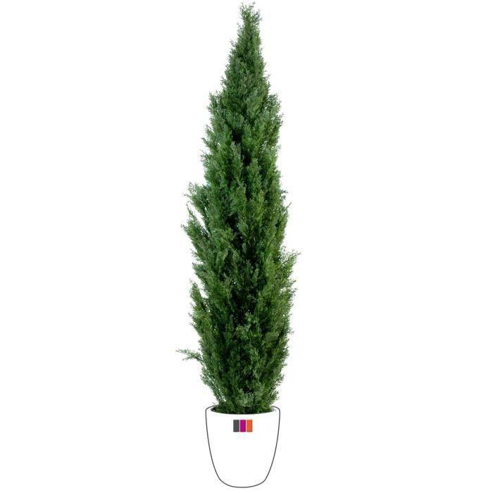 Cypres mini 55cm arbuste artificiel ext rieur achat for Arbuste interieur