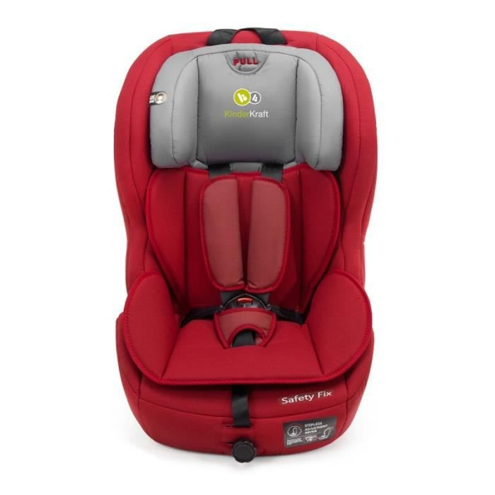 si ge auto safety isofix groupe i ii iii volutif 9 36 kg inclinable 123 rouge achat vente. Black Bedroom Furniture Sets. Home Design Ideas