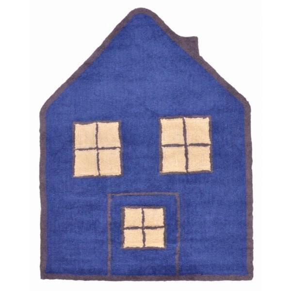 tapis de sol enfant 120x160 cm maison marine et beige achat vente tapis cdiscount. Black Bedroom Furniture Sets. Home Design Ideas
