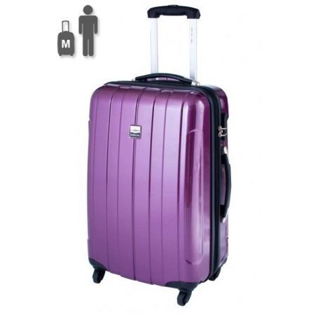 france bag valise rigide 60 cm cancun prune violet achat vente valise bagage 3607963162263. Black Bedroom Furniture Sets. Home Design Ideas