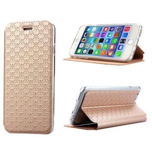 Housse cuir pu gold or diamant iphone 6 4 7 achat for Housse cuir iphone 6