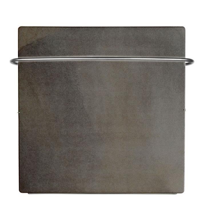 s che serviettes carr inertie barre chauffante touch silicium 800w sable lunaire achat. Black Bedroom Furniture Sets. Home Design Ideas