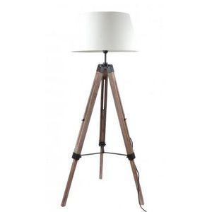 lampadaire interieur bois et tissus achat vente. Black Bedroom Furniture Sets. Home Design Ideas