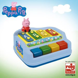 INSTRUMENT DE MUSIQUE PEPPA PIG Piano, Xylophone 4 Notes