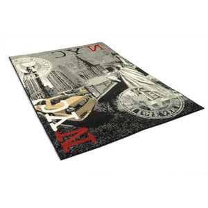Tapis new york achat vente tapis new york pas cher - Tapis chambre new york ...