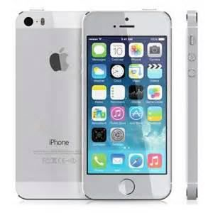 apple iphone 5s 32gb argent occasion achat smartphone. Black Bedroom Furniture Sets. Home Design Ideas