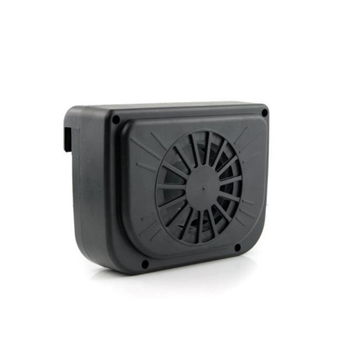 fan ventilateur solaire sortie de l 39 air radiateur voiture achat vente ventilateur d 39 appoint. Black Bedroom Furniture Sets. Home Design Ideas