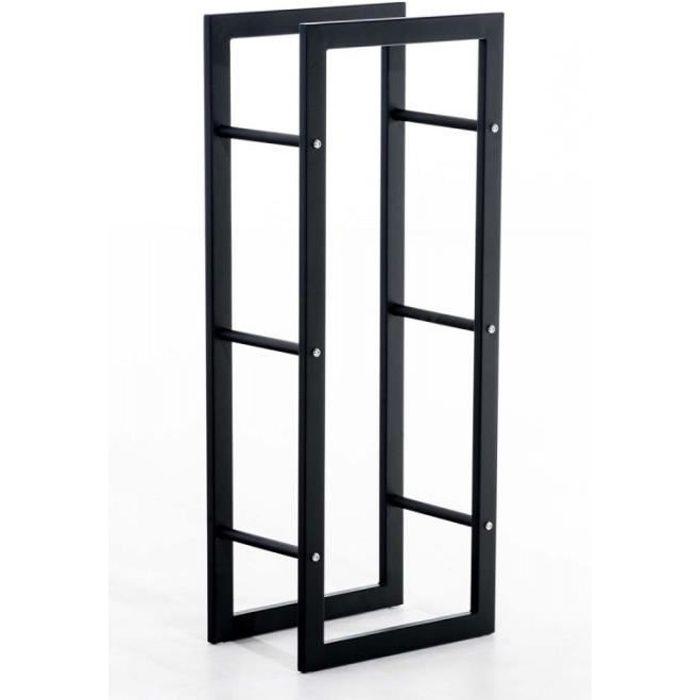 rangement buches de bois achat vente rangement buches de bois pas cher les soldes sur. Black Bedroom Furniture Sets. Home Design Ideas