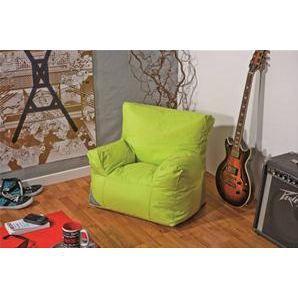 Fauteuil pouf enfant vert anis achat vente pouf poire pvc nylon cdis - Pouf fauteuil enfant ...