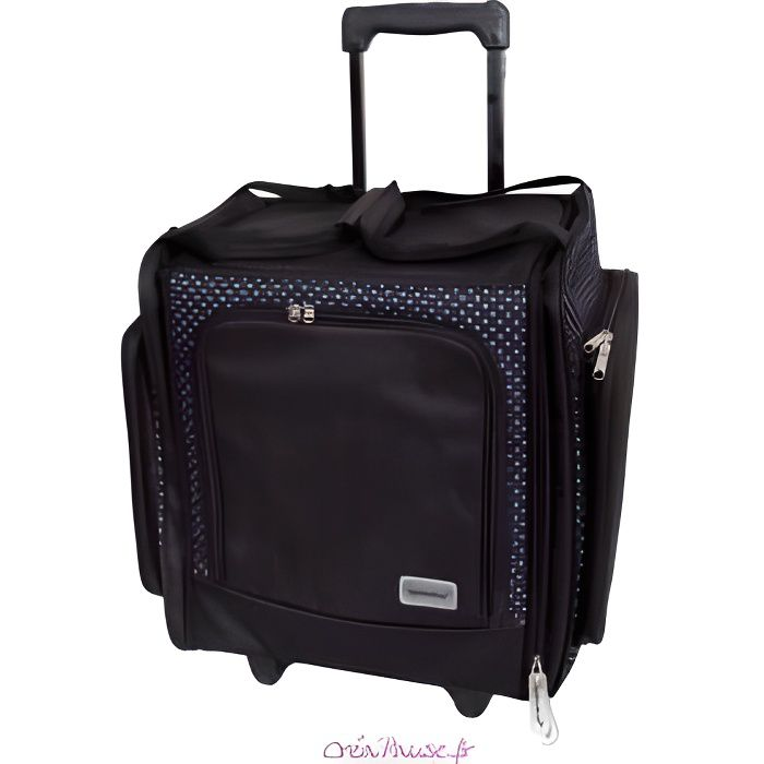 Valise trolley scrapbooking papermania docrafts achat for Malette a couture