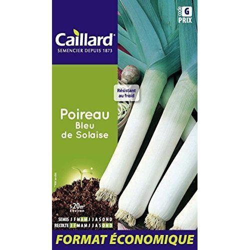 caillard pfcd14809 graines de poireau bleu de solaise achat vente graine semence caillard. Black Bedroom Furniture Sets. Home Design Ideas