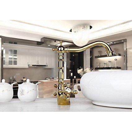 mitigeur robinet luxe couleur d 39 or tap lavabo mlan achat vente robinetterie de salle de bain. Black Bedroom Furniture Sets. Home Design Ideas
