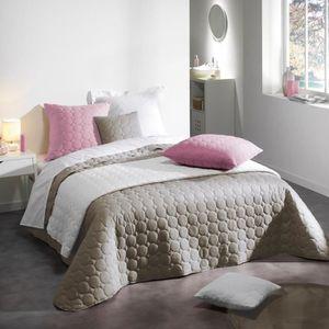 couvre lit 240 260 achat vente couvre lit 240 260 pas. Black Bedroom Furniture Sets. Home Design Ideas