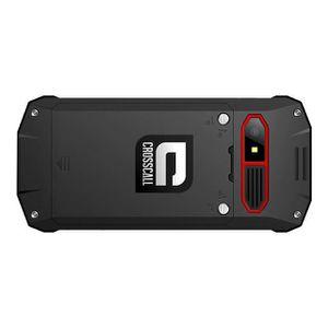 t l phone portable crosscall spider x4 noir achat t l phone portable pas cher avis et. Black Bedroom Furniture Sets. Home Design Ideas