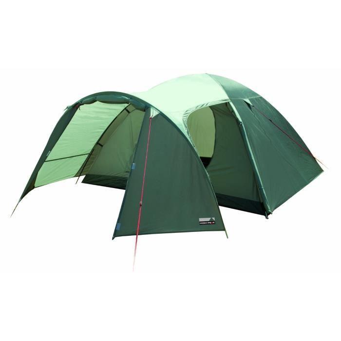 tente de camping pour 4 personnes avec moustiquaire olive. Black Bedroom Furniture Sets. Home Design Ideas