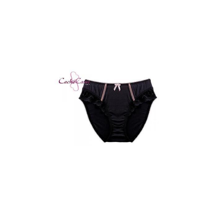 culotte de grossesse lisa noir achat vente culotte. Black Bedroom Furniture Sets. Home Design Ideas