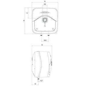 chauffe eau electrique 15l achat vente chauffe eau electrique 15l pas cher cdiscount. Black Bedroom Furniture Sets. Home Design Ideas