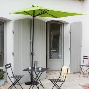 parasol rectangulaire avec manivelle achat vente. Black Bedroom Furniture Sets. Home Design Ideas