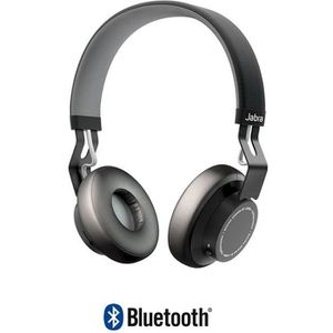 CASQUE - ÉCOUTEUR AUDIO JABRA MOVE WIRELESS noir Casque audio bluetooth -