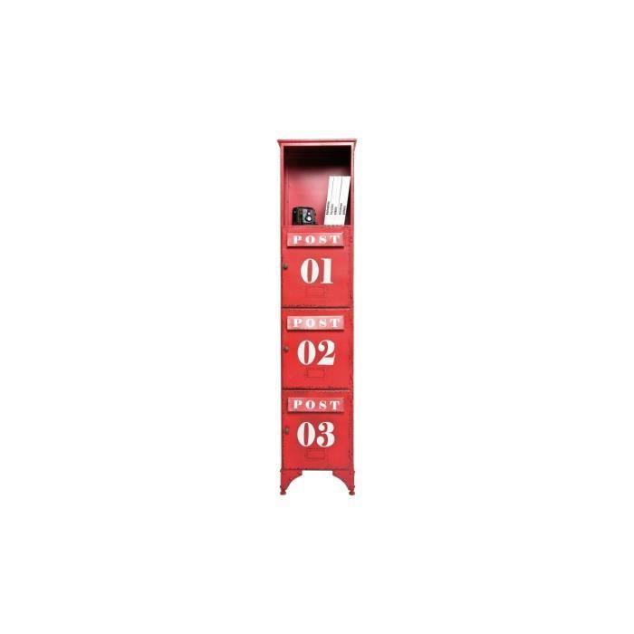 Meuble de rangement post kontor 3 portes kare d achat for Meuble rangement une porte