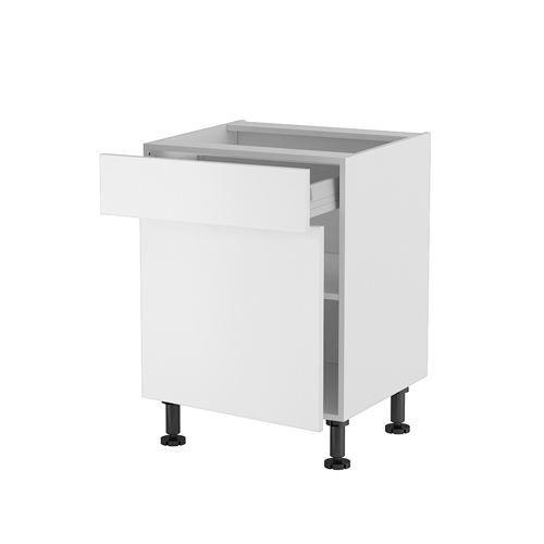 Meuble cuisine bas 60cm 1 tiroir porte 60 70 mo achat - Meuble cuisine 60 ...