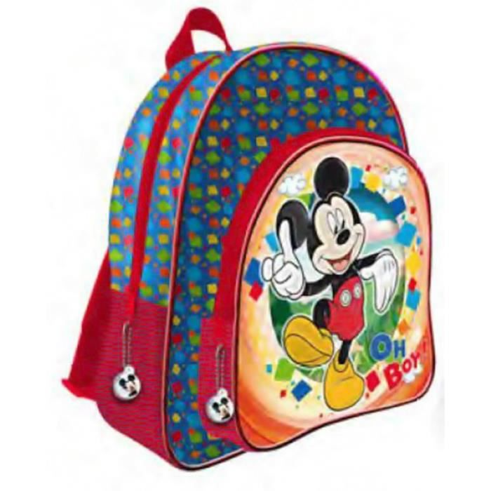 Mickey et ses amis grand cartable 2 zips adaptable trolley 41 cm disney mickey mouse oh boy - Mickey mouse et ses amis ...