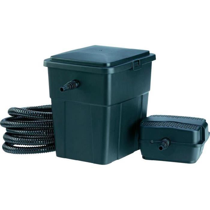 set complet de pompe et filtre pour bassin pontec