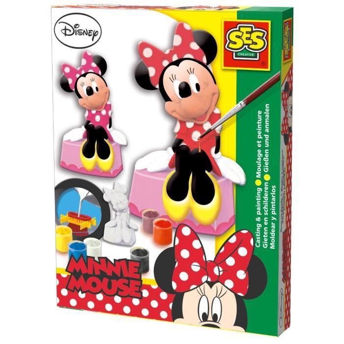minnie mouse moulage en pl tre achat vente kit. Black Bedroom Furniture Sets. Home Design Ideas