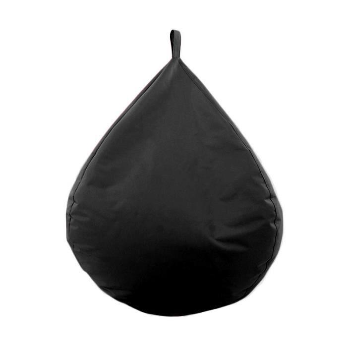 Conforama Pouf Poire Awesome Pouf Poire Relax Coloris Noir