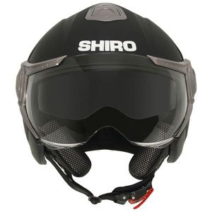 Casque moto demi jet SHIRO SH-80...