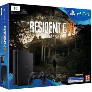 CONSOLE PS4 NOUVEAUTÉ Nouvelle PlayStation 4 1 To + Resident Evil 7 (Jeu
